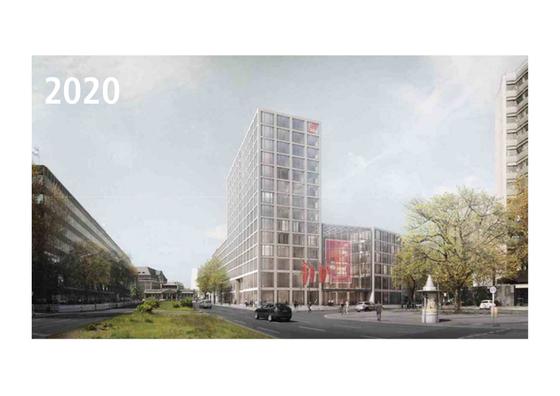 DGB-Haus Berlin Keithstraße Planung 2020