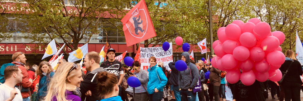 Erste Mai Demonstration DGB Jugend