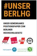 Unser Grundkonsens zum Berliner Hochschulgesetz