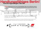 "Rückseite der Postkarte ""Handlungsfähiges Berlin!"""